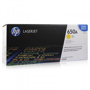 Toner HP Original CP5520 Amarelo – CE272A - HP 650A