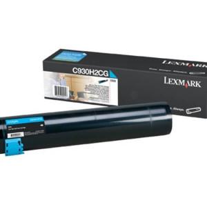Toner Original Lexmark C935dtn - C930H2CG Ciano / Azul